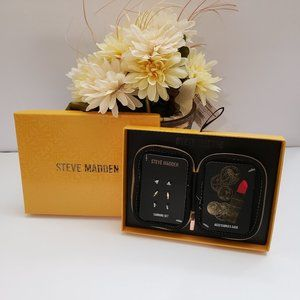 NWT Steve Madden Earrings and Accessories Case Set